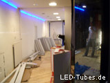LED Tubes Intallation und Planung